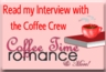 Romance, Coffee Time Romance, Interview, Contemporary Romance