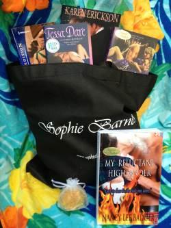 My Reluctant Highland blog prize from Nancy Lee Badger