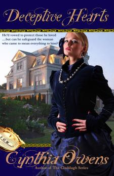 Deceptive Hearts, an Irish Historical Romance by Cynthia Owens