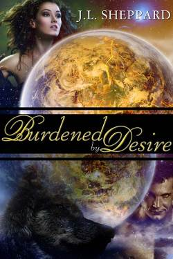 Burdened by Desire, a paranormal romance by J.L. Sheppard