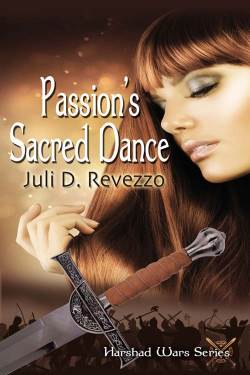 Passion's Sacred Dance, a paranormal romance by Juli D. Revezzo