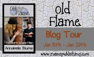 Old Flame, a contemporary New Adult romance by Annabelle Blume