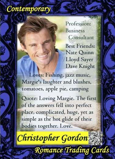Christopher Gordon, hero of Summertime Dream, a contemporary romance