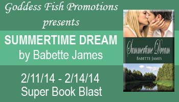 Summertime Dream, a contemporary romance by Babette James - Goddess Fish Blook Blast