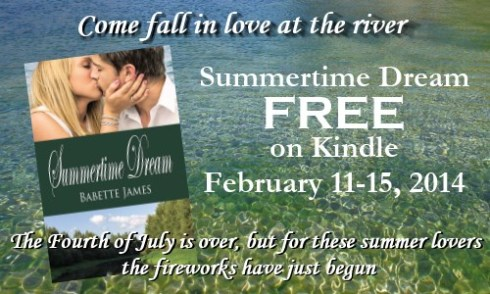 Summertime Dream, a contemporary romance by Babette James, Free on Kindle