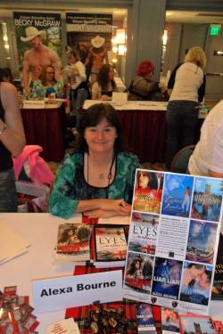 Alexa Bourne, author of Dance Away Danger, a romantic suspense