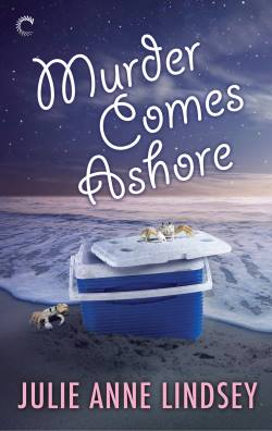 Murder Comes Ashore, a cozy mystery by Julie Anne Lindsey
