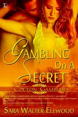 Gambling on a Secret, a contemporary western romance by Sara Walter Elwood