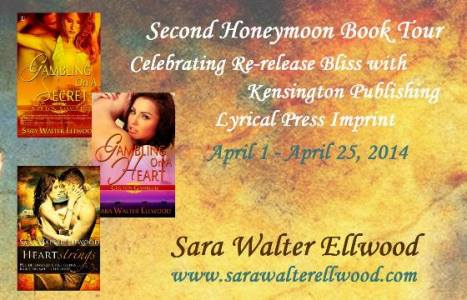 Second Honeymoon Blog Tour, contemporary western romance by Sara Walter Elwood