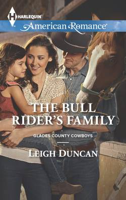 The Bull Rider's Family, a contemporary western romance by Leigh Duncan