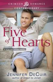 Five of Hearts, a contemporary romance by Jennifer DeCuir