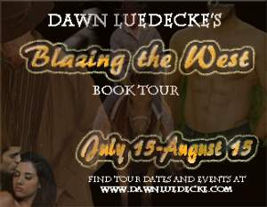 Dawn Luedecke Blazing the West Book Tour