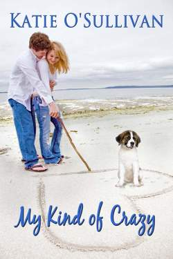 My Kind of Crazy, a contemporary romance by Katie O'Sullivan