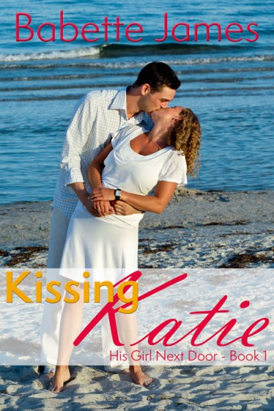 Kissing Katie, a contemporary romance by Babette James
