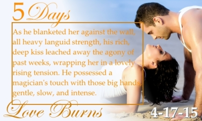 Love Burns, a contemporary romance, by Babette James