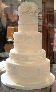 Wedding Cake, photo by Carly Carson
