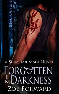 Forgotten in Darkness, a paranormal romance by Zoe Forward