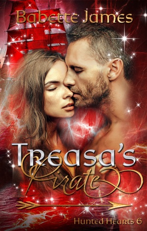 Treasa's Pirate, a fantasy romance by Babette James